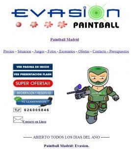 evasion paintball madrid