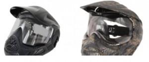 dúo de máscaras de paintball