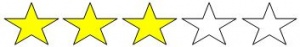 3 estrellas paintball