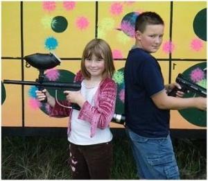 paintball y niños 3