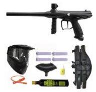 Tippmann Gryphon Paintball Marker Gun 3Skull 4+1 9oz Mega Set