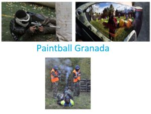 paintball granada aeropuerto